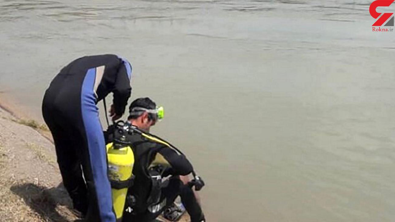 کشف جسد مرد 20 ساله در حاشیه رودخانه کارون