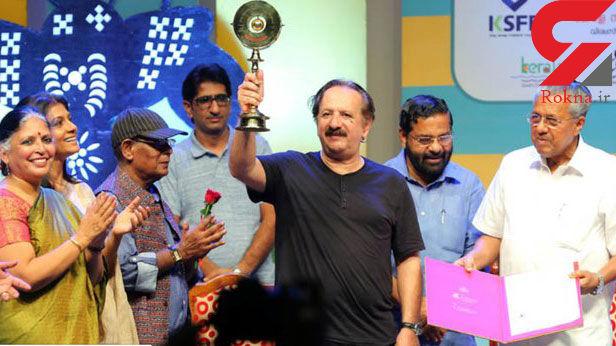 مجید مجیدی از هندیها جایزه گرفت +عکس