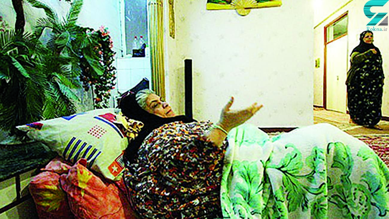 عکس قبل از مرگ لیلا زن 350 کیلویی ایران + جزئیات زندگی و ماموریت آتش نشانان