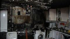 خسارت 70 میلیونی آتش سوزی منزل مسکونی در داورزن