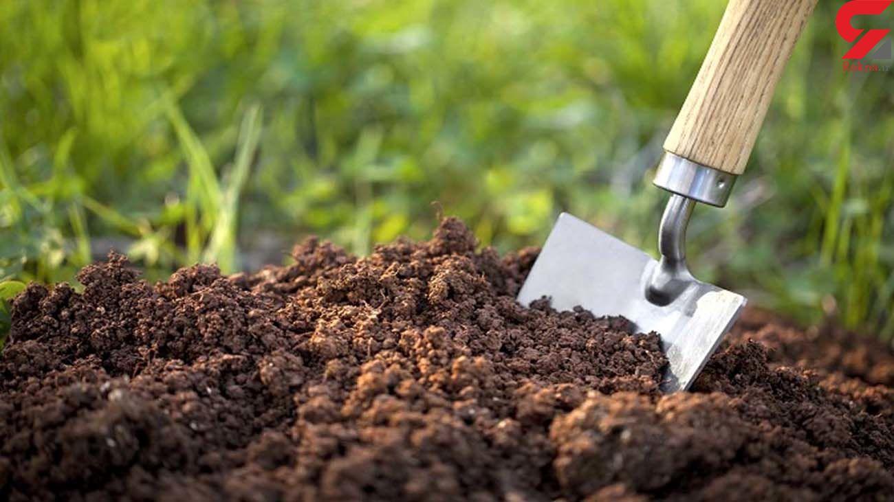 اختراع خاکی که از هوا آب جذب می کند