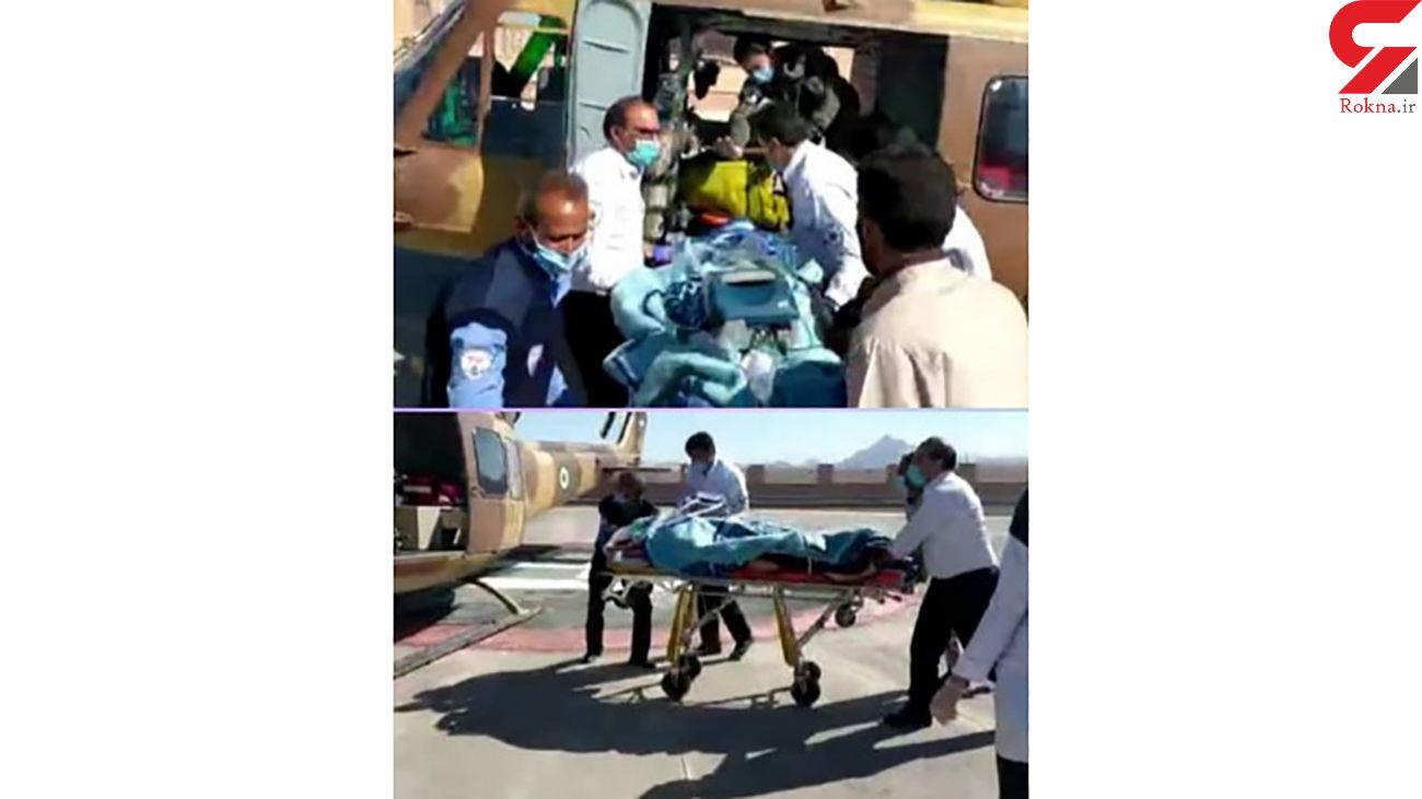 زن اصفهانی مرده بود ناگهان زنده شد / اورژانس هوایی در شوک