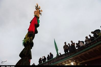 آئین علم بندان محرم در ماسوله