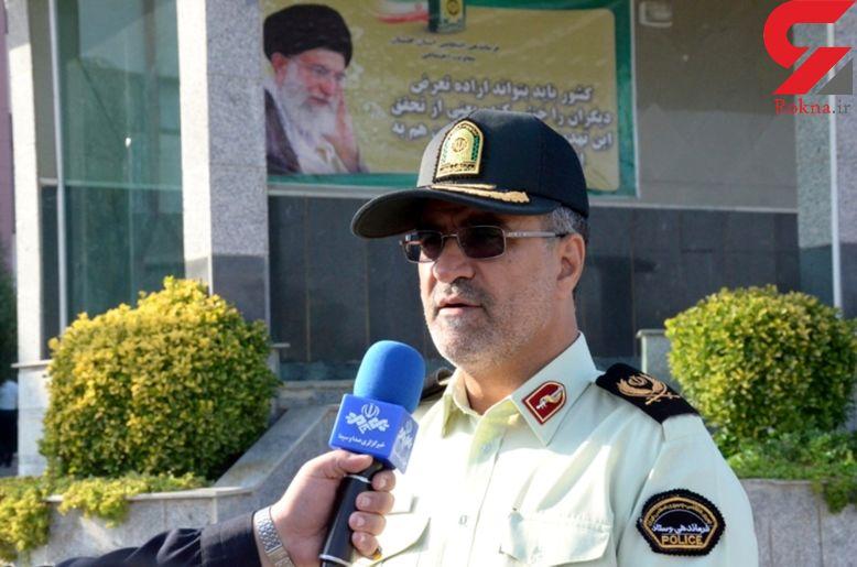 پایان زورگیری های 2 تبهکار در گلستان