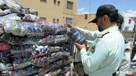 امحای 80 تن انواع کالاهای آرایشی و خوراکی قاچاق در تبریز