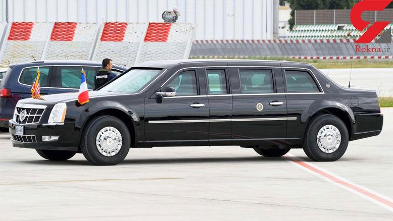 اسرار باور نکردنی خودروی مخصوص ترامپ به نام هیولا+ عکس