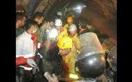 امید نجات معدنچیان گرفتار در معدن گلستان بیشتر شد / هوا در 5 متری محل حبس جریان دارد+عکس
