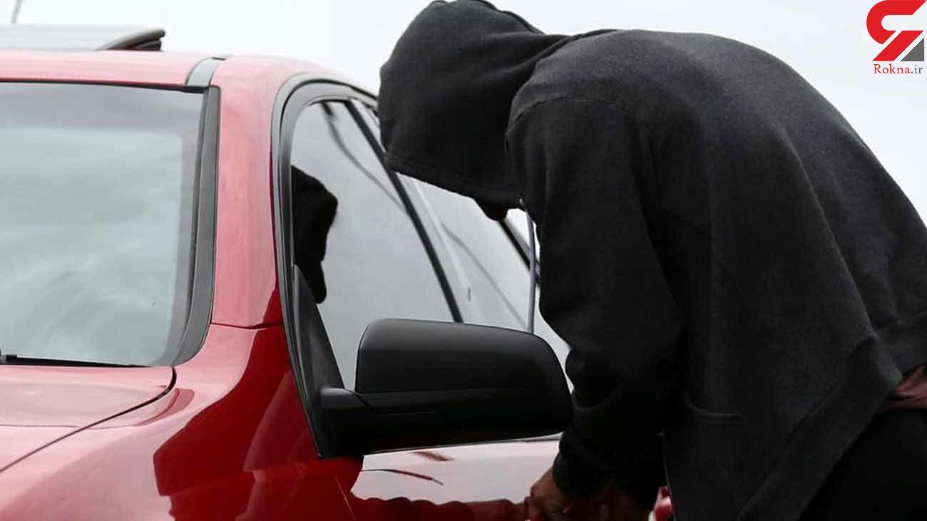 کشف مزدا323 سرقتی در محدوده خیابان هنگام