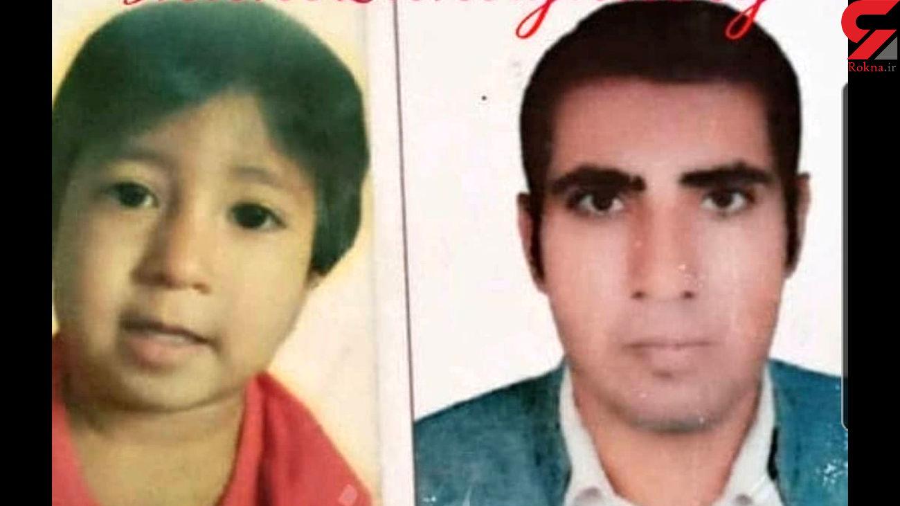 مرگ حمید و کودک 2 ساله از تشنگی و گرما در دلگان + عکس و فیلم اختصاصی