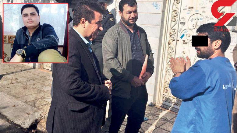 قتل برادر زن به سبک فیلم های پلیسی در مشهد / قاتل تغییر چهره داده بود  + عکس