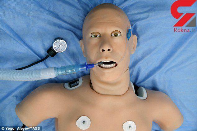 آموزش پزشکی با کمک ربات ممکن است
