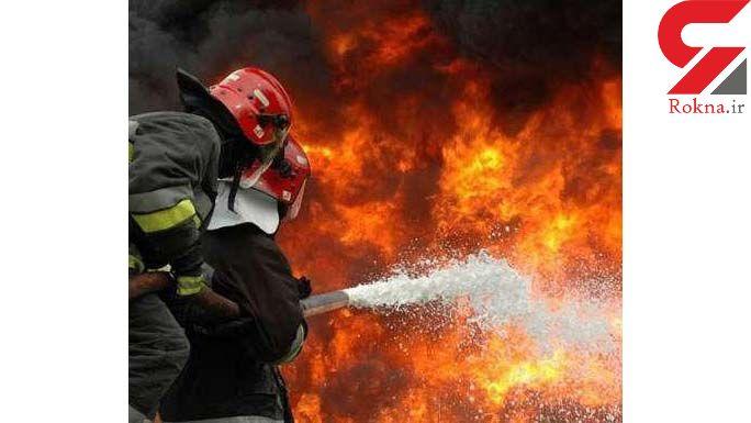کودک تالشی در آتش زنده زنده سوخت