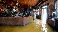 توفان ، لوئیزیانای آمریکا را بهم ریخت/ 330 خانه مسکونی تخلیه شد + عکس