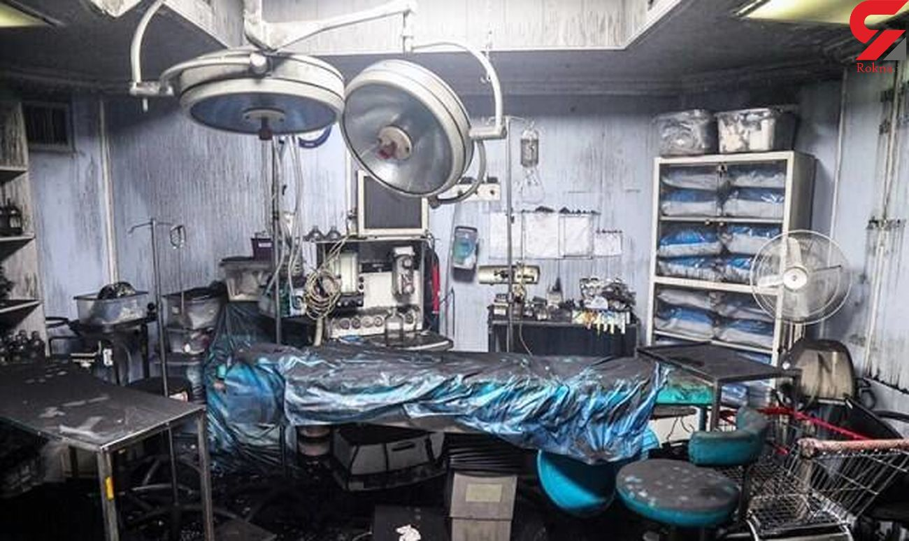 جزئیات پشت پرده انفجار کلینیک سینا در تجریش + عکس و فیلم