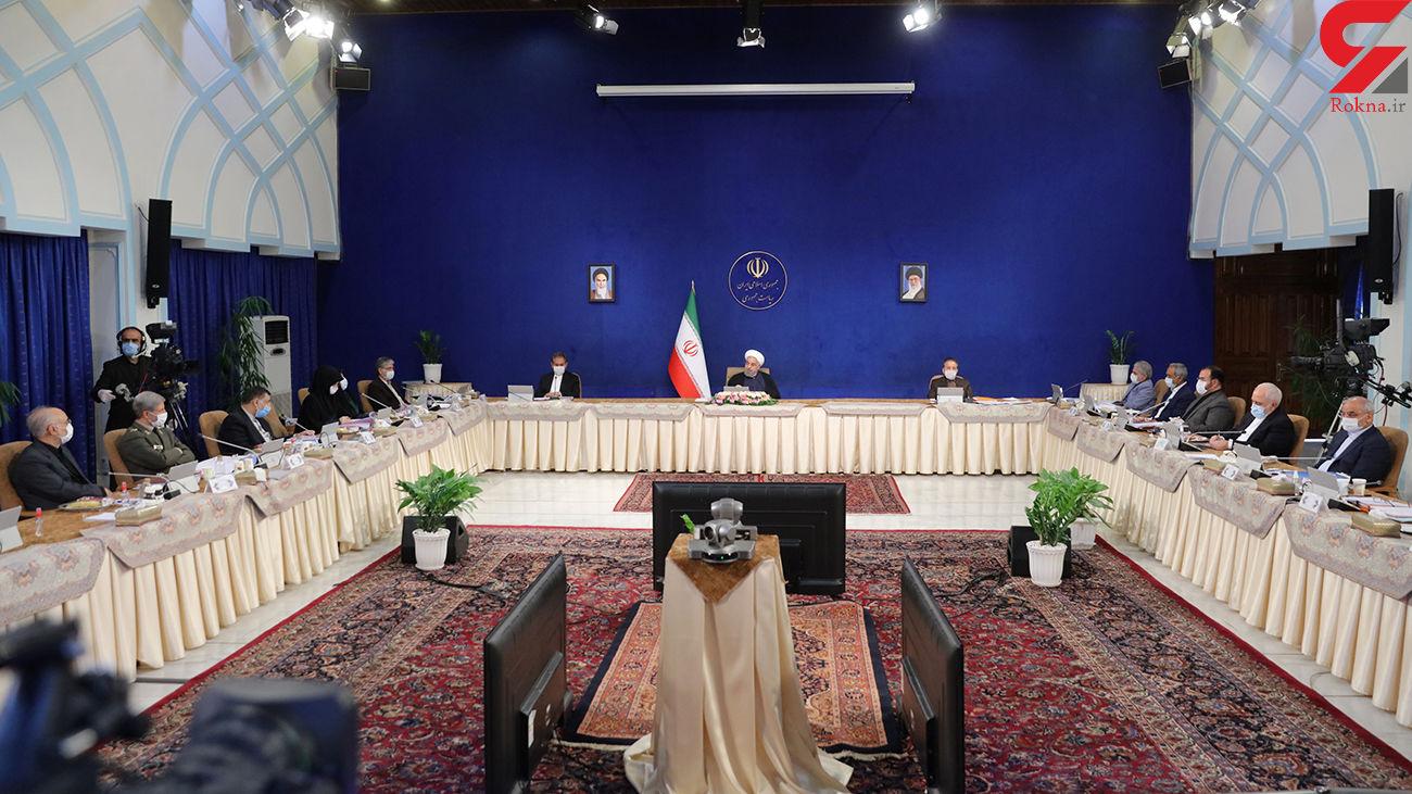 روحانی : کشور در مسیر جهش تولید قرار گرفته است /  قرار گرفتن ایران در مسیر رشد اقتصادی