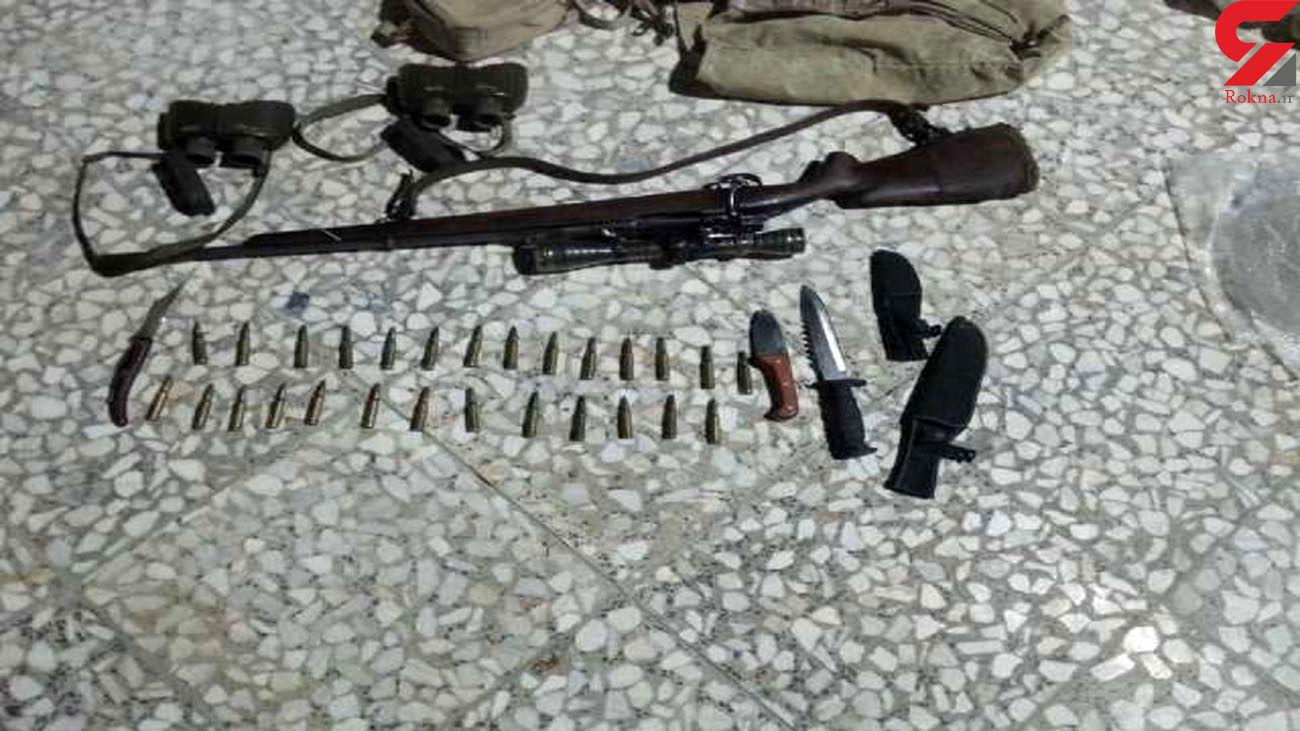 دستگیری شکارچی کبک در راور