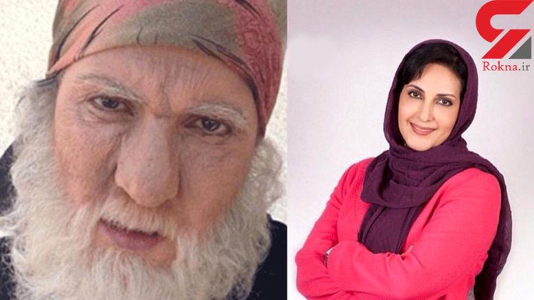 گریم عجیب  و مردانه بازیگر معروف زن+ عکس