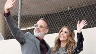 ستاره سینما و همسرش کرونا را شکست دادند + عکس