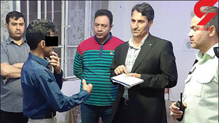 اعترافات هولناک قاتل یک روحانی در مشهد / گوش مقتول با قیچی بریده شد + عکس