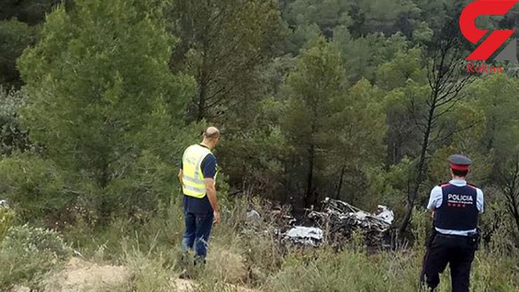 سه کشته بر اثرسقوط هواپیمای سبک در اسپانیا