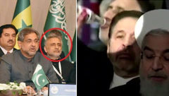 دیپلماتی که آبروی روحانی را در استانبول ترکیه برد! + فیلم و عکس