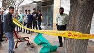 عکس جسد رضا پس از مرگ مرموز در خیابان / در سیرجان رخ داد