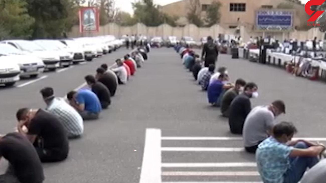 29 باند سرقت در البرز متلاشی شد + فیلم
