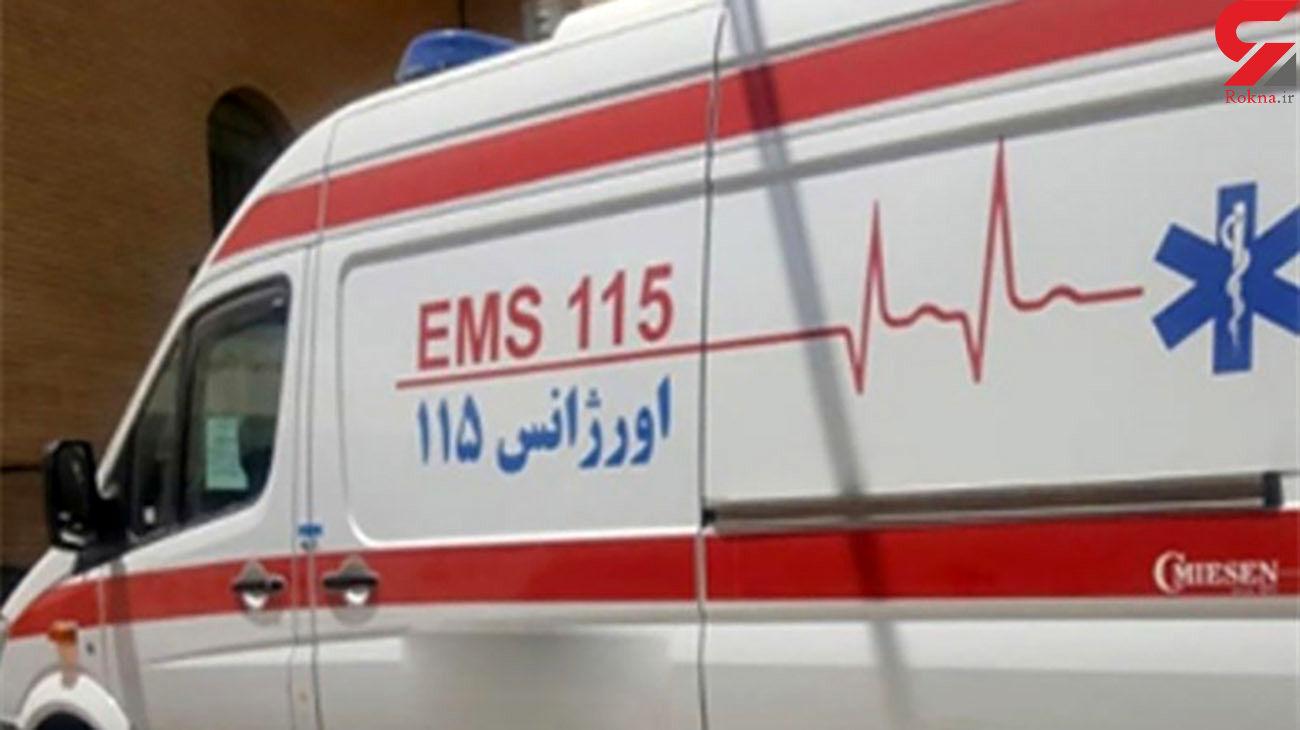 ایست قلبی مرد تهرانی پشت فرمان / مرگ هنگام تصادف زنجیره ای