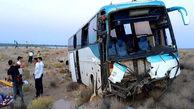 57 کشته و زخمی بر اثر تصادف اتوبوس در یزد+ عکس