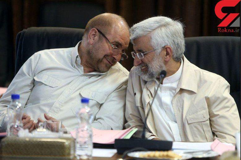 خندههای جلیلی و قالیباف در جلسه مجمع تشخیص مصلحت نظام+عکس