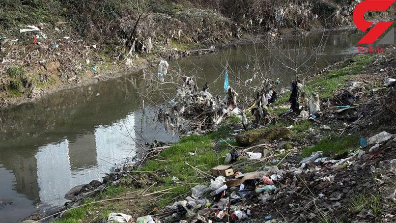 مهم / رودخانه ای در رشت که استفاده از آن مصرف کننده را فلج می کند+ تصاویر