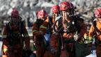 مرگ 7 تن به خاطر ریزش معدن+عکس
