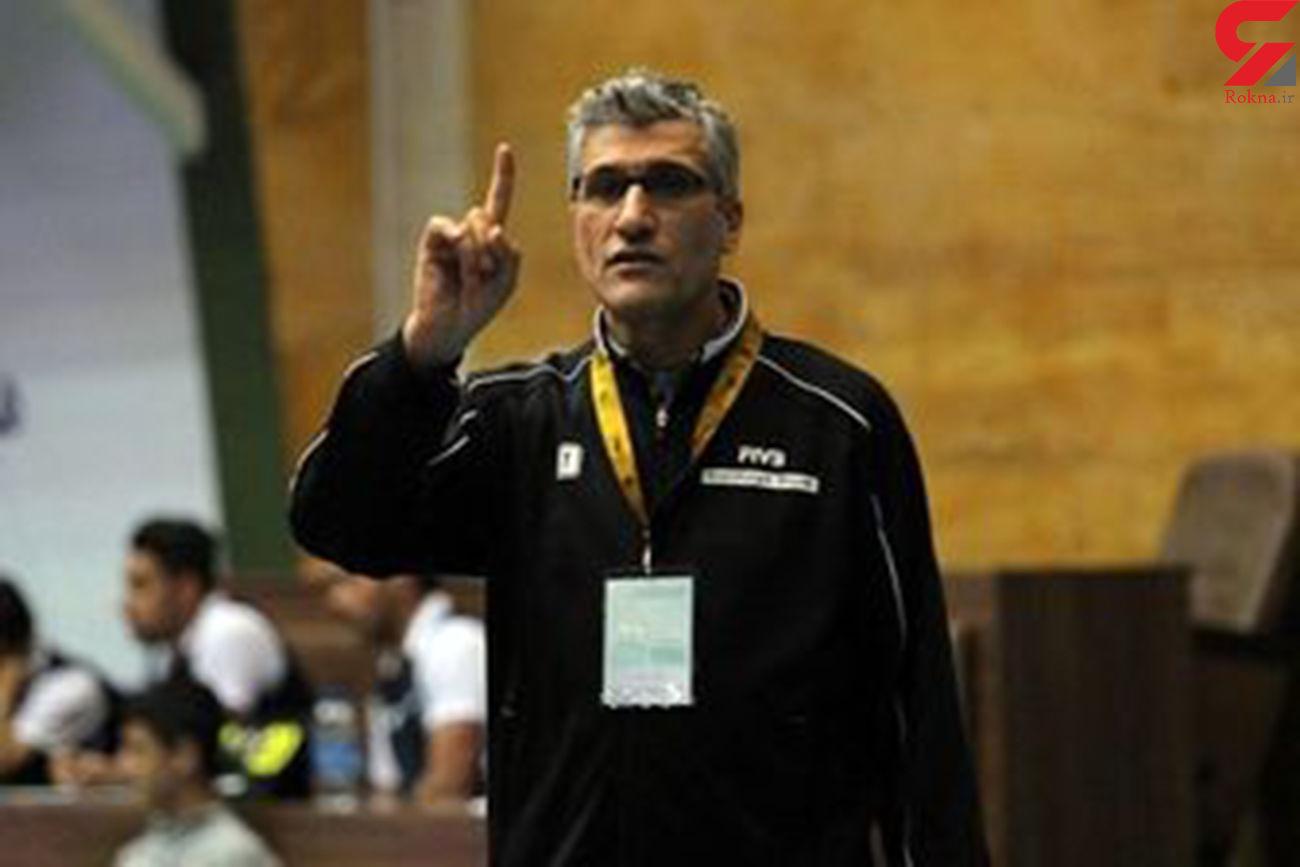 مربی پرافتخار والیبال ایران به کرونا مبتلا شد