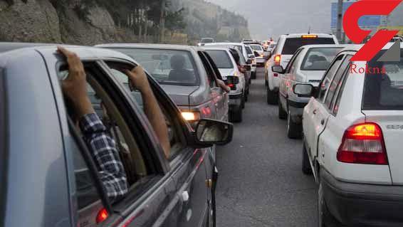 ترافیک پرحجم جنوب به شمال در هراز و فیروزکوه