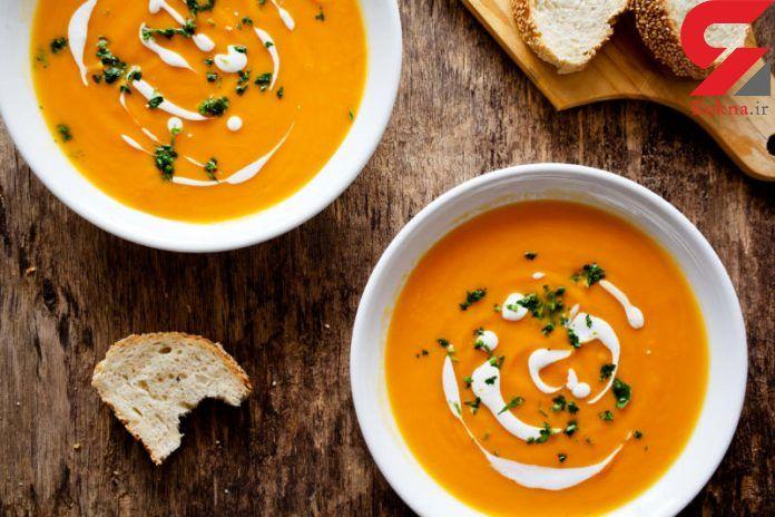 این سوپ سلامت چشم ها را ضمانت می کند+دستور پخت