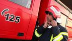 آتشسوزی خودروی ۴۰۵ در داخل پارکینگ در خیابان مولوی / ۲۰ نفر از اهالی ساختمان نجات یافتند