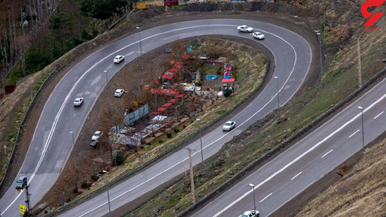 وضعیت تردد در جاده های شمال کشور