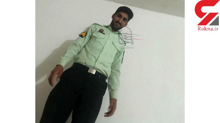 عکس مامور تکاور پلیس که در شب عید فطر به شهادت رسید