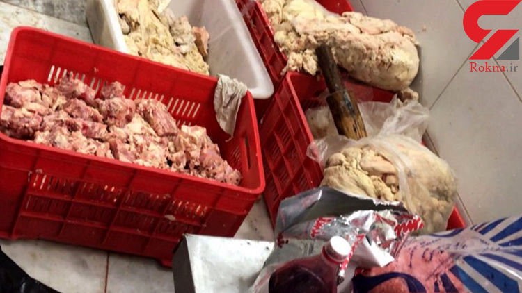 دو تن گوشت غیربهداشتی در مشهد کشف شد