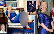 عکس عجیب از بیل کلینتون روی دیوار خانه یک قاچاقچی منحرف