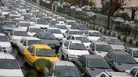 ترافیک سنگین صبحگاهی شهر تهران
