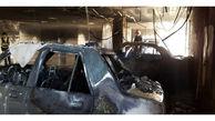 9 مصدوم در آتشسوزی یک ساختمان در شیراز