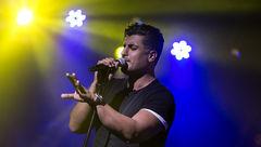 برگزاری کنسرت شهاب مظفری در اردبیل