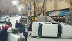 واژگونی خودرو در مبارکه حادثه آفرید