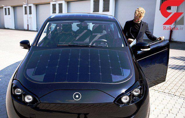 در آلمان خودرویی با سقف خورشیدی ساخته شد