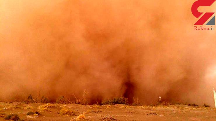 باد شدید و وقوع ریزگردها در کرمان و شهرهای اطراف