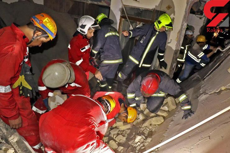 نجات 4 زن و یک مرد از شعله های آتش خانه ای در اصفهان