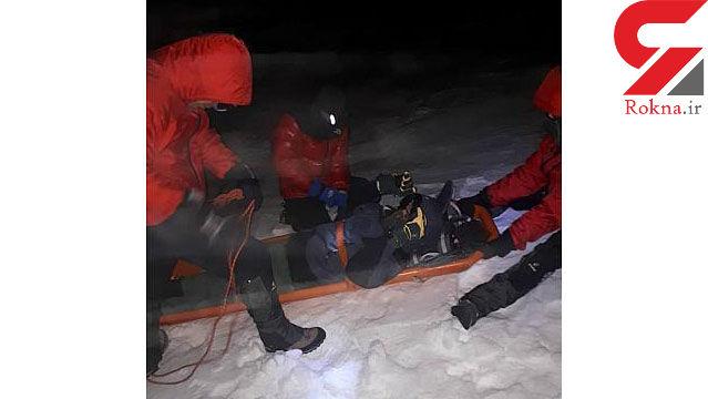 یخ زدن 3 تهرانی در ارتفاعات توچال / سقوط خونین یکی از کوهنوردان + تصاویر