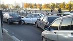 تصادف زنجیره ای 12 خودرو در بزرگراه امام علی(ع)