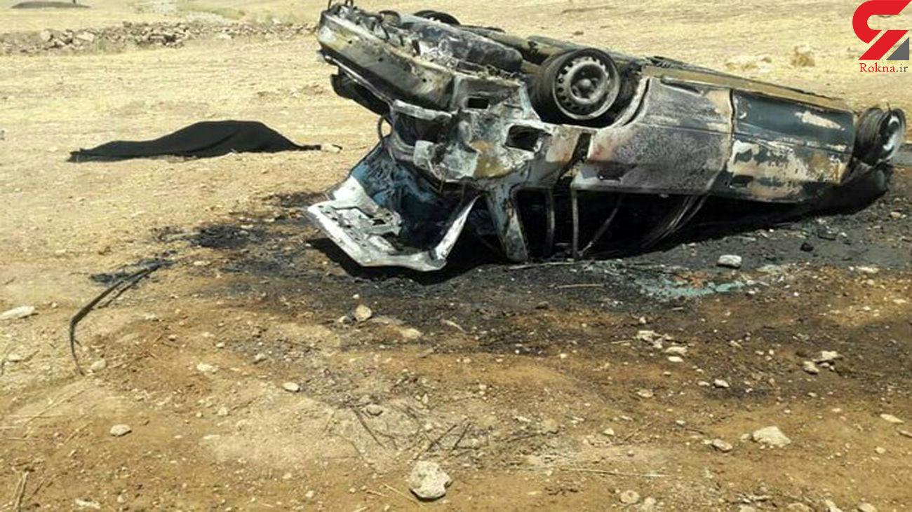 تصادف رانندگی در محور مریوان-سروآباد 2 کشته برجای گذاشت